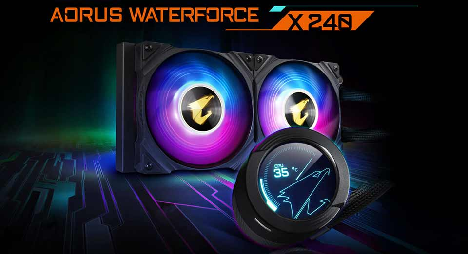 آئورس WATERFORCE X 240